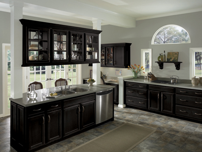Onyx kitchen cabinets sage onyx marble tile good colors for Black onyx kitchen cabinets