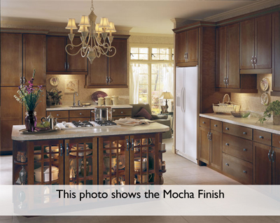 Armstrong Mocha Kitchen Cabinets