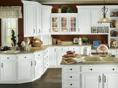 kitchen example displaying the armstrong cabinet style tuscany with the alpine white finish jdssupply com  tuscany by armstrong cabinets  rh   jdssupply com