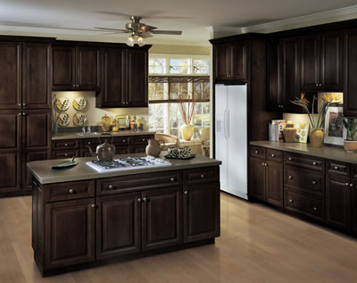 Monica wants it a lifestyle blog staining oak cabinets for Lifestyle kitchen units