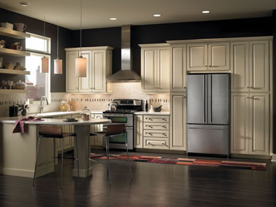 vanilla cream kitchen cabinets jdssupply leighton by armstrong cabinets 27911