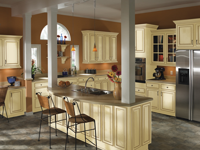 cream glazed kitchen cabinets pictures jdssupply berkshire by armstrong cabinets 14213