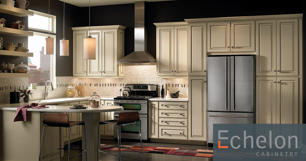 Browse Echelon cabinetry 2018 colors and styles.